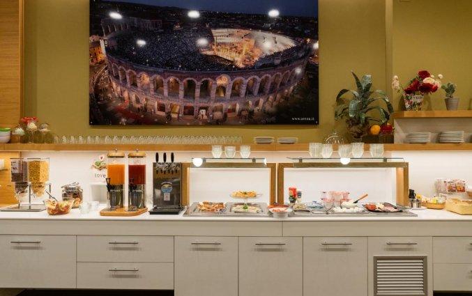 Ontbijt van Hotel Giulietta e Romeo Verona