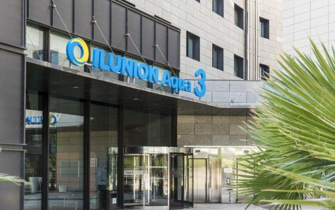 Entree van Hotel Ilunion Aqua 3 in Valencia