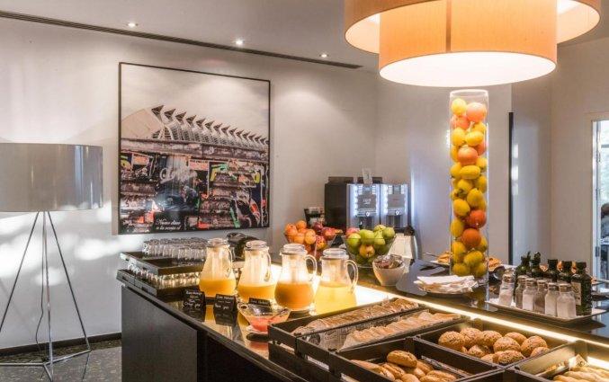Ontbijt bij Hotel Medium Valencia