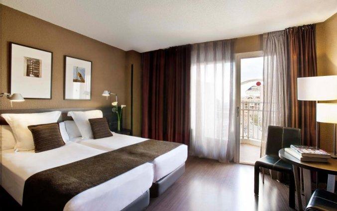 Tweepersoonskamer bij Hotel Medium Valencia