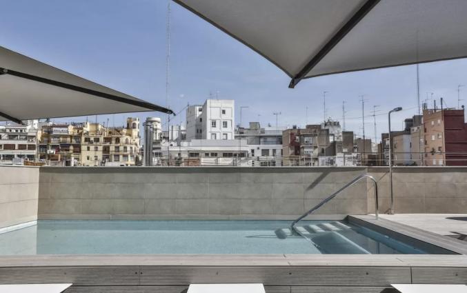 Dakterras van Hotel Vincci Mercat Valencia