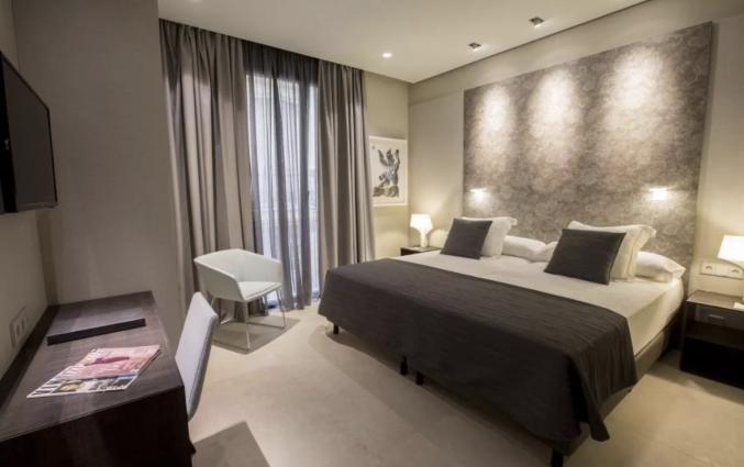 Tweepersoonskamer van Hotel Vincci Mercat Valencia