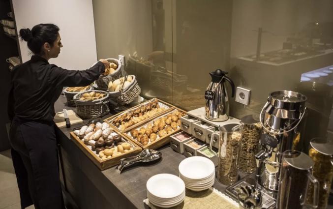 Ontbijt van Hotel Vincci Mercat Valencia