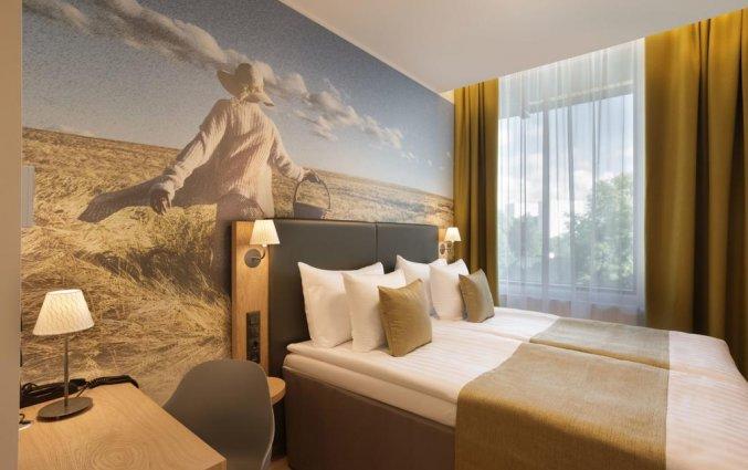 Tweepersoonskamer van hotel Centennial Tallinn