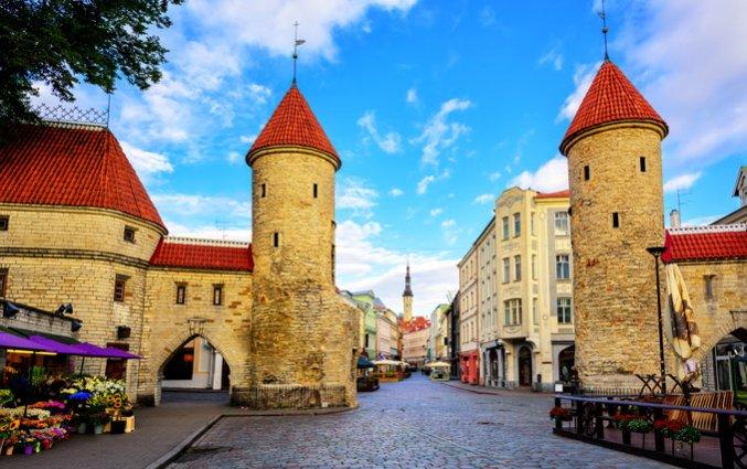 Tallinn - Twin towers