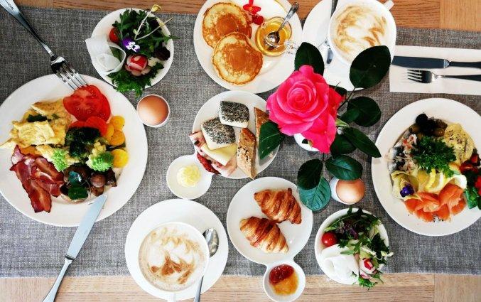Ontbijt van Hotel L'Ermitage Tallinn