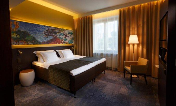 Tweepersoonskamer van hotel Palace Tallinn