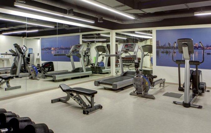 fitnessruimte van hotel Palace Tallinn