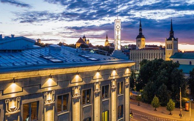 Buitenaanzicht van hotel Palace Tallinn