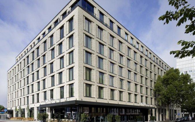 Gebouw van Hotel Amano Grand Central in Berlijn