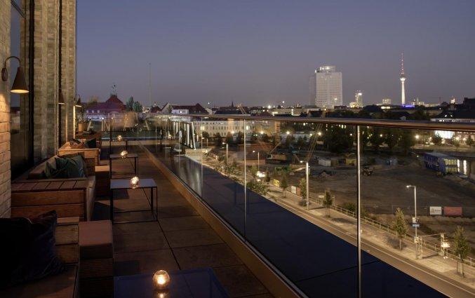 Dakterras van Hotel Amano Grand Central in Berlijn