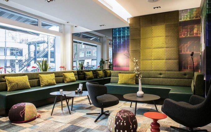 Lounge van Savoy Hotel in Rotterdam