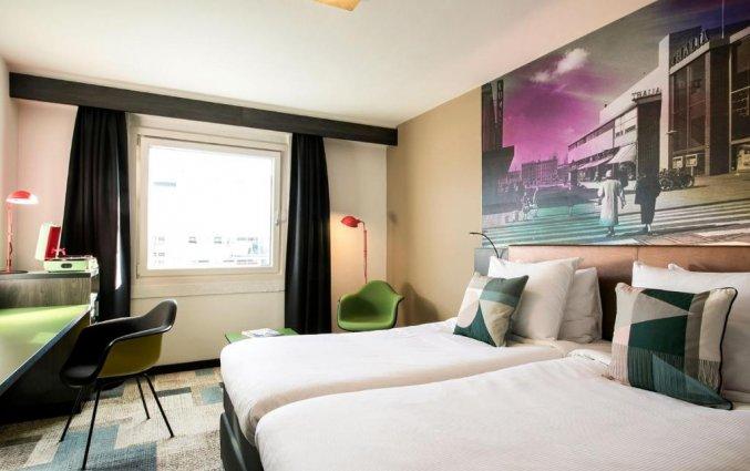 Tweepersoonskamer van Savoy Hotel in Rotterdam