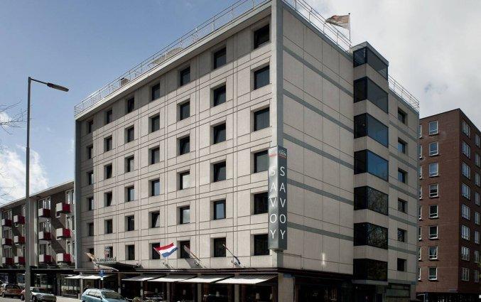 Gebouw van Savoy Hotel in Rotterdam