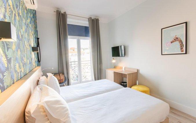 Tweepersoonskamer van hotel Aria Nice
