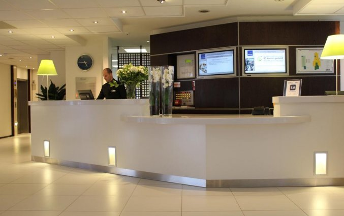 Receptie van Novotel Hotel Maastricht