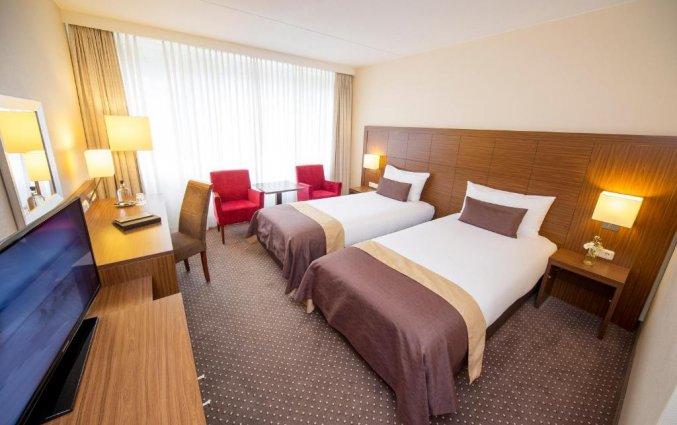 Tweepersoonskamer van Hotel De Bilderberg op de Veluwe