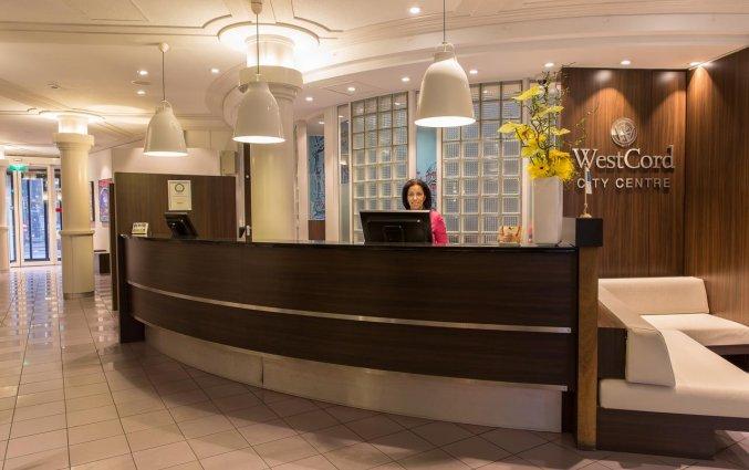 Receptie van WestCord City Centre Hotel Amsterdam