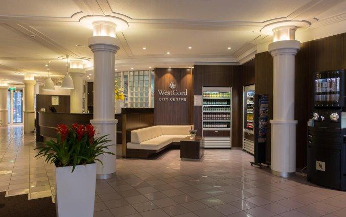 Lobby en receptie van WestCord City Centre Hotel Amsterdam