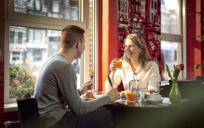 Ontbijten in het WestCord City Centre Hotel Amsterdam