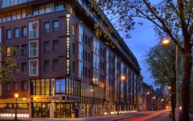Gebouw van Hotel NH Museum Quarter in Amsterdam