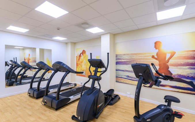 Fitness in Hotel Crown Plaza Maastricht