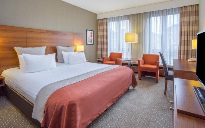 Tweepersoonskamer in Hotel Crown Plaza Maastricht