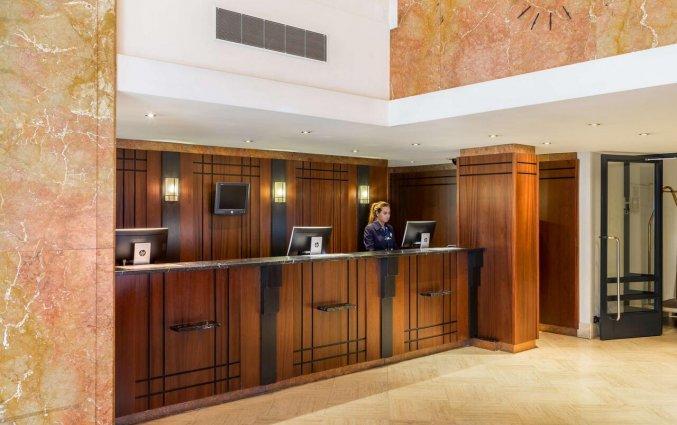 Receptie van Hotel NH Atlanta in Rotterdam