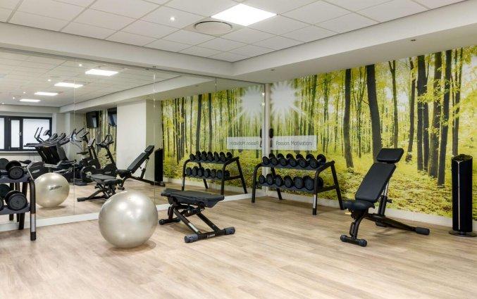 Fitnessruimte van Hotel NH Atlanta in Rotterdam