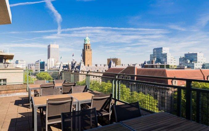 Terras van Hotel NH Atlanta in Rotterdam