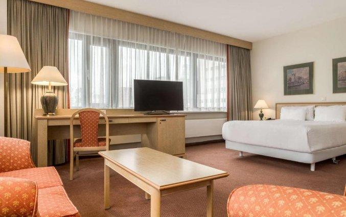 Tweepersoonskamer van Hotel NH Atlanta in Rotterdam