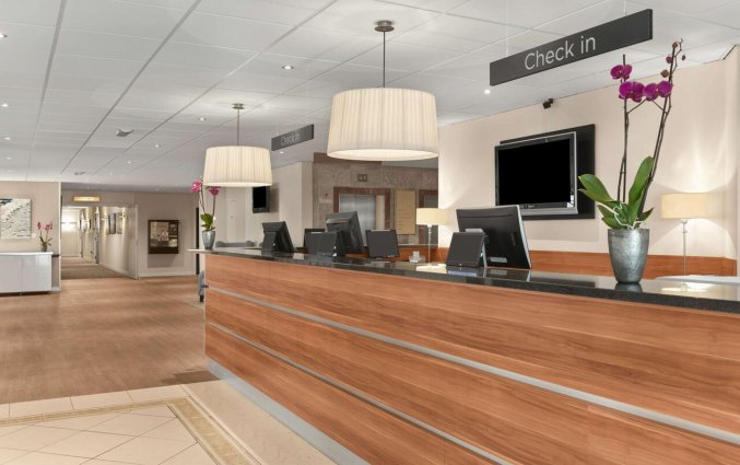 Receptie van Hotel NH Zandvoort aan de Nederlandse Kust