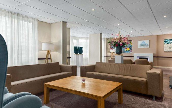Lobby en receptie van Hotel NH Zandvoort aan de Nederlandse Kust