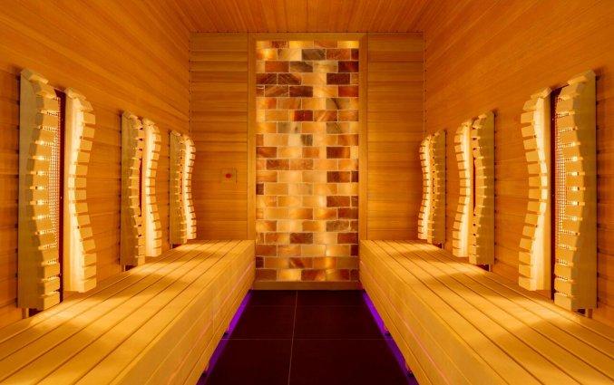 Sauna in het wellnesscentrum van Hotel NH Zandvoort aan de Nederlandse Kust