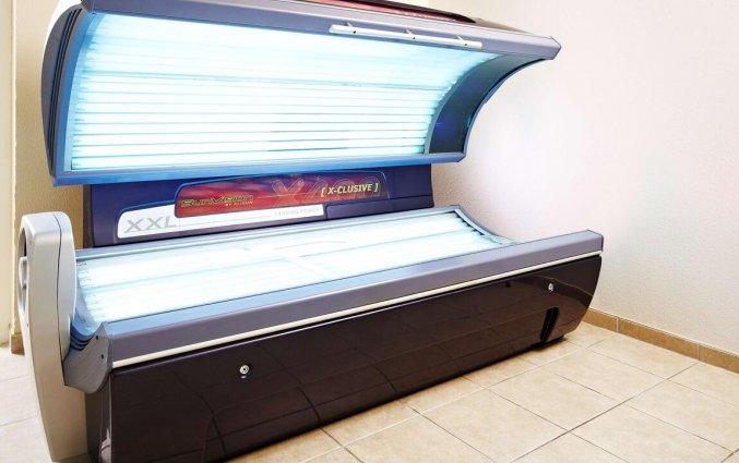 Solarium in het wellnesscentrum van Hotel NH Zandvoort aan de Nederlandse Kust