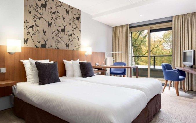 Tweepersoonskamer van Hotel NH Veluwe Sparrenhorst op de Veluwe
