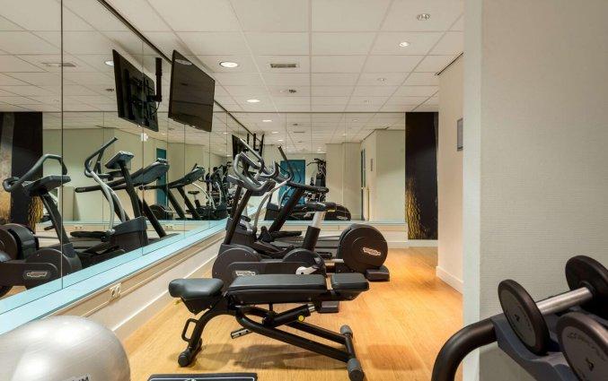 Fitnessruimte van Hotel NH Veluwe Sparrenhorst op de Veluwe