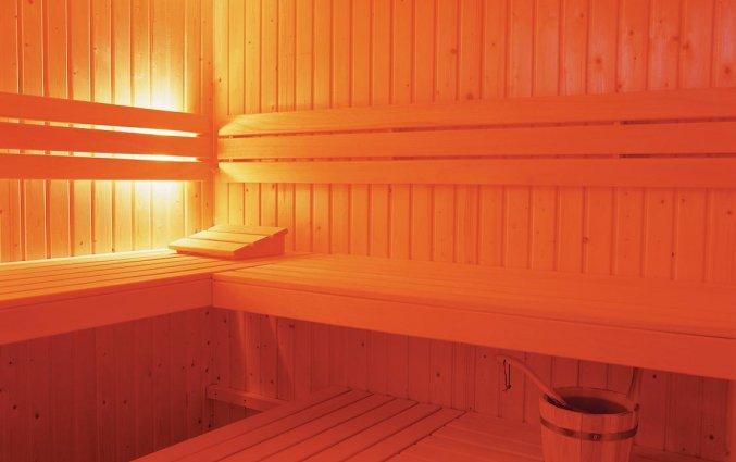 Sauna van Hotel Bilderberg de Keizerskroon op de Veluwe