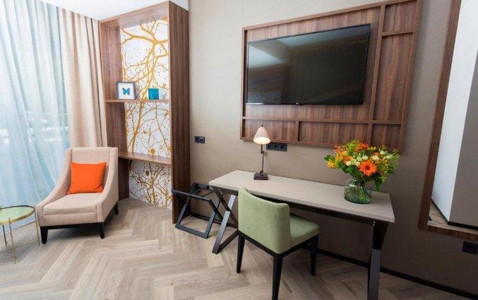 Tweepersoonskamer van Hotel DoubleTree by Hilton Royal Parc Soestduinen op de Utrechtse Heuvelrug
