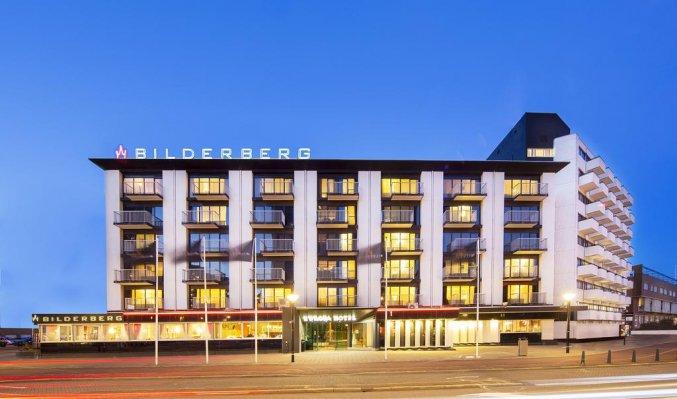 Gebouw van Hotel Bilderberg Europa Scheveningen aan de Nederlandse Kust