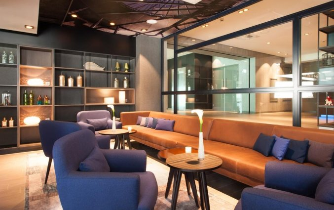 Lounge van Hotel Bilderberg Europa Scheveningen aan de Nederlandse Kust