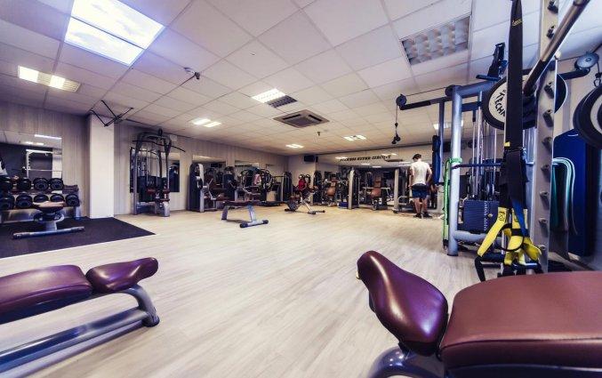 Fitnessruimte van Hotel Carlton Beach Scheveningen aan de Nederlandse Kust