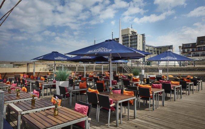 Beachclub van Hotel Carlton Beach Scheveningen aan de Nederlandse Kust