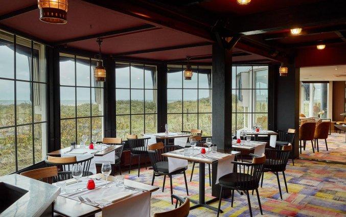 Restaurant van Hotel Carlton Beach Scheveningen aan de Nederlandse Kust