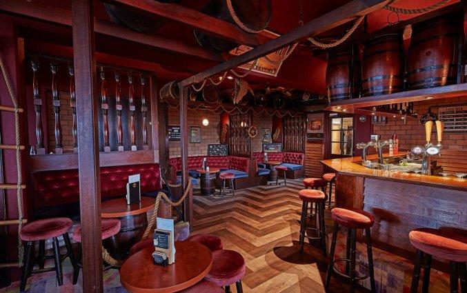 Bar van Hotel Carlton Beach Scheveningen aan de Nederlandse Kust