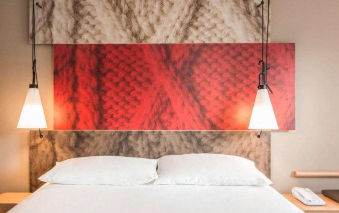 Tweepersoonskamer in Hotel Ibis Kathedraal Gent