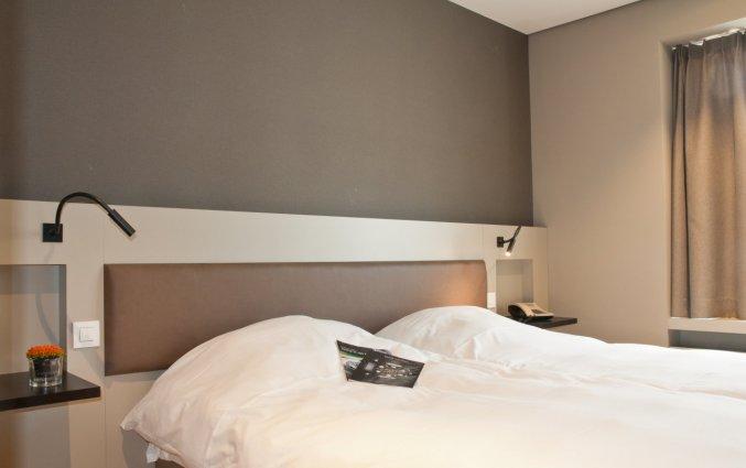 Tweepersoonskamer in Hotel Castelnou Aparthotel Gent