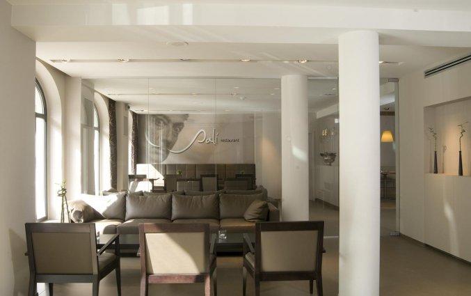Lounge van Hotel Castelnou Aparthotel Gent