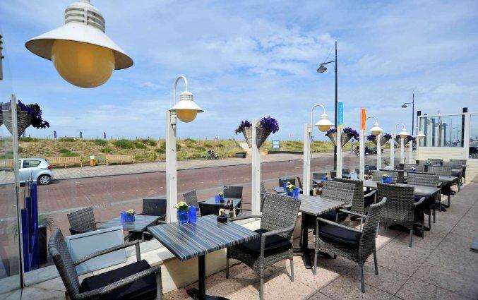 Terras van Golden Tulip Noordwijk Beach