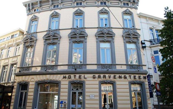Exterieur van Hotel Gravensteen Gent